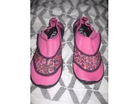 BNWT Girls swim shoes size 2
