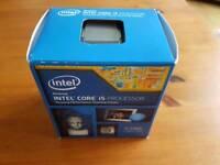 Intel i5 4460 CPU Processor + Heatsink / Fan Immaculate