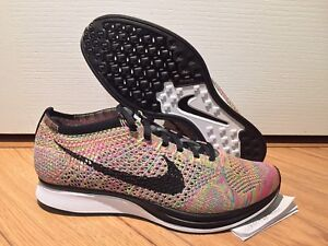 Nike Flyknit Racer Multi Colour 3.0 2016 sz9.5