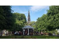 Barista wanted for outdoor cafe in Edinburgh city centre (Fringe Festival)