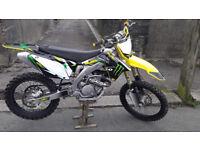 FOR SALE SUZUKI RMZ 450 2012 MOTORCROSS