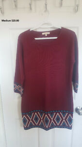 Fall knitted dress, new never worn from Pseudio size medium