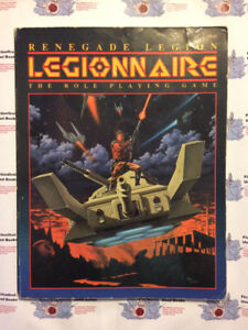 "Roleplaying Manual: ""Renegade Legion: Legionnaire"""