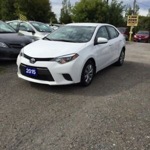 2015 Toyota Corolla PRE-OWNED CERTIFIED- ACCIDENT FREE CLEAN CAR