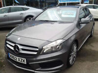 Mercedes-Benz A180 CDI BlueEFFICIENCY AMG Sport (HALF LEATHER+SAT NAV)