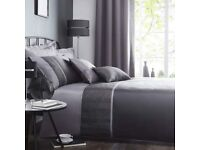 brand new in packet satin embroidered double duvet cover