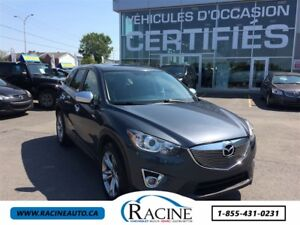 2013 Mazda CX-5 GT CUIR, TOIT OUVRANT