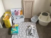 Tommee Tippee Baby Bath & Extras!