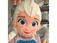 Elsa mascot head
