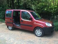 2007 FIAT DOBLO 1.3 DIESEL WHEEL- CHAIR- VEHICLE # MPV # REMOTE ELECTRIC WINCH # FOLD AWAY RAMP #