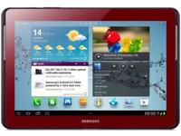 """Samsung galaxy tab 2. 10.1"""". Red good condition £100 fixed price"""