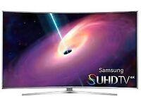 """Samsung UE48JS9000 Smart 3D 4K SUHD 48"""" Curved LED TV"""