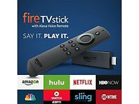 Amazon fire Tv stick latest 2nd Gen with Alexa voice control
