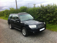 Subaru Forester 2.0 XE only 52k miles FSH , leather interior, manual petrol