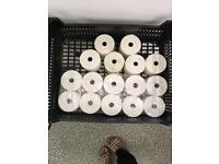 Casio business till with 16 rolls