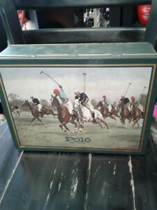 RARE POLO VINTAGE TIN CAN MADE IN ENGLAND EXCLUSIVELY FOR WARNER