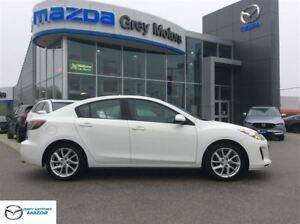 2012 Mazda MAZDA3 GT, Heated Leather, Sunroof, Mint!