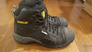 Womens Caterpillar Steel Toe Boots Size 8