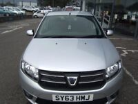 2013 63 DACIA SANDERO 1.1 LAUREATE 5d 75 BHP***GUARANTEED FINANCE***PART EX WELCOME***