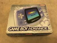 Nintendo Gameboy Advance - Transparent - Plus 6 Games