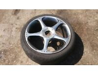 ALLOY WHEEL WITH TYRE 205/40/17