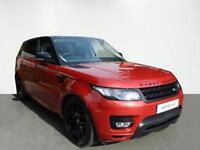 Land Rover Range Rover Sport SDV6 HSE DYNAMIC (red) 2017-03-01