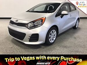2016 Kia Rio LX+ ECO CLEAN CARPROOF, BLUETOOTH, USB