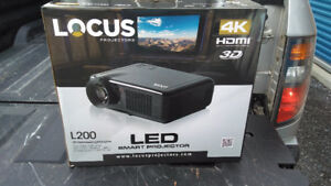 Considerable price drop 4k locus projector with screen