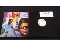 2 N.W.A vinyl records