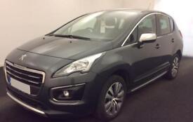 Peugeot 3008 Crossover Active FROM £45 PER WEEK!