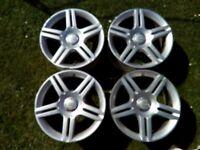 4 Genuine AUDI S Line VW SKODA SEAT ... 17 inch Alloy Wheels