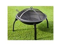 Contemporary Dome Fire Pit 56cm (MDR-701)