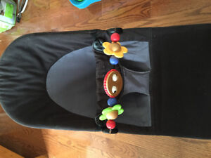 Baby Bjorn bouncer balance soft black & gray