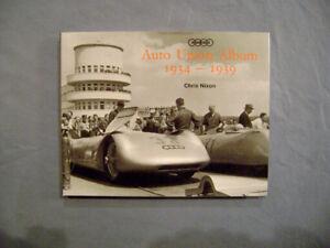 Auto Union Album 1934-1939 by Chris Nixon HB 1st edition