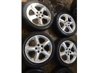 "17"" GENUINE VAUXHALL ASTRA ZAFIRA VECTRA SET OF 4"