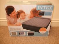 Intex inflatable double bed. Brand new in box.