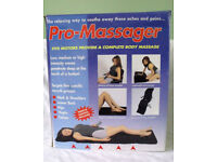 Complete body massage mat - Pro Massager -5 motors