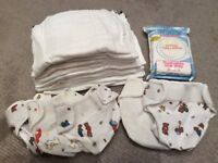 Bambioo Mio reusable nappies and covers