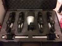 Samson 7 piece drum microphone set