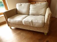 """Sofa & armchair - """"Shabby Chic"""" rope woven, comfortable seating"""