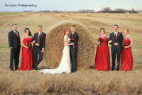 Build your own Wedding Pkg from $1000 - Friesen Fotography
