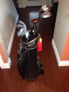 Campbell Golf club set with Augusta bag