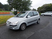 HYUNDAI GETZ 1.1 CDX HATCHBACK 5 DOOR NEW SHAPE 2007 ONLY 82K MILES BARGAIN £695 *LOOK* PX/DELIVERY