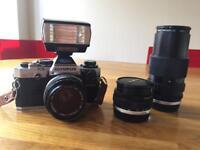 Olympus OM 10 35mm SLR Camera
