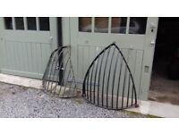 Large hay racks/ wall planters