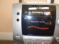 Alba karaoke machine uses cassette tapes