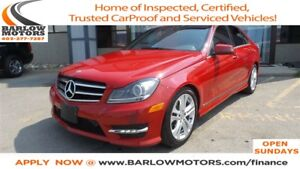 2014 Mercedes-Benz C-Class C300 4MATIC | NAVI | LEATHER | SUNROO