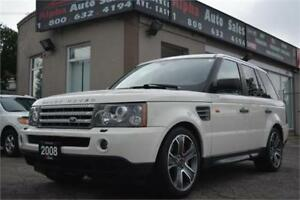 2008 Land Rover Range Rover Sport Supercharged *Certified* MINT!