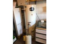 Unvented indirect hot water cylinder