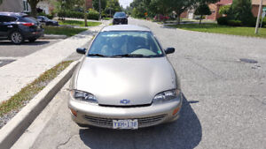 ONLY 62.K KMS on this 1999 Chevrolet Cavalier OMG!!